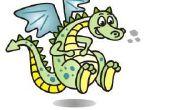 Wie zeichne einen Cartoon-Drachen!!!