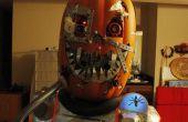 Mutierte Cyborg Kürbis Halloweenkostüm v1. 3