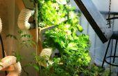 Ultimative vertikale Hydrokultur Farm auf die billige Tour... Geschenk Weg grünen Pflanzen!