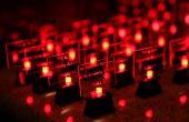 Machen Sie Ihre eigene LED Hochzeit Tischkarten