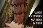 Holzstruktur Leder Bracer Tutorial