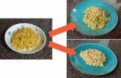 Putzt sich Box Makkaroni und Käse (in 20 Minuten oder weniger!)