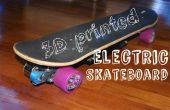 DIY 3D gedruckt Elektro-Skateboard mit 1500W Leistung!