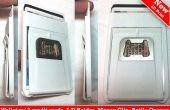 .25 ultra slim minimalistischen Brieftasche, Geld-Clip, Metall-Flaschenöffner, Kreditkarte, die an Ihrem android Fall angebracht werden kann