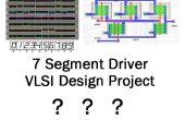 Gewusst wie: sieben-Segment-Display-Treiber-Chip auf VLSI Consept zum ersten Mal zu entwerfen!?