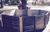 Tragbare Gaga Grube aus Repurposed Zaun