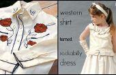 Westernhemd, Rockabilly Kleid Refashion