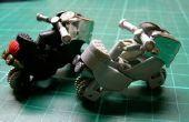 Motorrad-Spielzeug-Modell mit 2 Einheiten von Gas Feuerzeuge