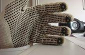 MIDI-Handschuh mit Arduino und Lichtsensoren Trommeln