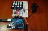 Zutrittskontrolle mit Arduino + Tastatur 4 x 4 + Servo (UPDATE)