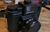 Holga Reparatur- und Blende Modificaiton