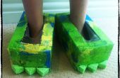 DIY Monster Schuhe