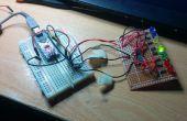 Erste Schritte mit Processing und Arduino (controlling Schieberegister vom Computer)