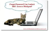 Entsperren von IBM / Lenovo Thinkpad