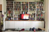 IKEA Hack: eingebaute Schränke und Regale