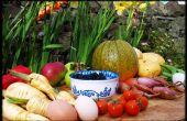 Englische Obst und Gemüse Garten Ernte