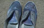 DIY Galaxy Schuhe