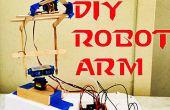 DIY Arduino Roboterarm