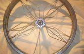 Wie erstelle ich Kunst aus Fahrrad-Rad