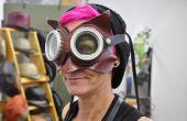 3-in-1 Leder Dr. Whoo Eule Maske mit Brille