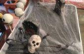 Halloween Kuchen Pop stehen