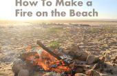 Wie erstelle ich ein Feuer am Strand