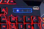 Wie erstelle ich einen USB-Anschluss für die Tastatur / nützliche Idee!