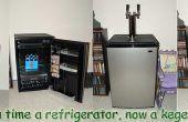 Wie man eine Kegerator Kit oder Homebrew Kegerator aus einem Mini-Kühlschrank Sanyo baut