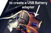 ChipKIT Proto-Schild Adapter für externe USB-Stromversorgung