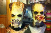 Predator Maske Deluxe markieren 2-2 Teil Gipsform für eine Latex-Maske