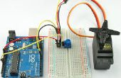 ARDUINO: Servo Winkel durch Potentiometer gesteuert