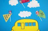 Zurück zu Schule Handwerk: Super Hero Lutscher