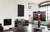 Wie kann man einen TV ON ein TV Wagen (LOCTEK P2) montieren?