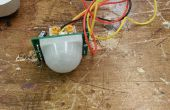 Bewegung aktiviert LED mit einem Parallax PIR Sensor