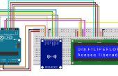 Arduino Rfid Lese- und Schreibberechtigungen für lcd