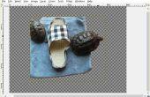 Hinzufügen von einem transparenten Hintergrund mit GIMP
