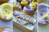 Zitronen-Lavendel-Cupcakes