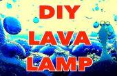 Wie erstelle ich eine DIY-Lava-Lampe