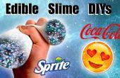 Essbare Schleim Baumärkte: Galaxy Schleim, Schleim-Stress-Ball und Emoji Schleim Container