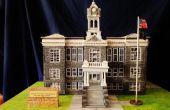 Historisches Gebäude im Maßstab: Gerichtsgebäude