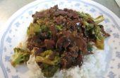 Crock Pot Rindfleisch Brokkoli