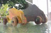 Palette Holz Derby Autos (fast kostenlos)