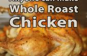 Einfach ganz gebratenes Huhn!