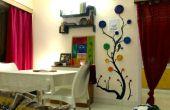 DIY Wanddekor mit recyceltem Zeitung