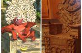 Inspiriert von King Louie Temple Chair (Dschungelbuch)