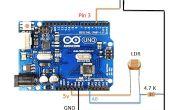 Auotmatic Straßenbeleuchtung mit LDR und Arduino