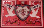 Wie erstelle ich eine viktorianischen Vintage Cherub-Valentine-Karte