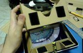 Google Pappe HMD für Tablet-