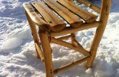 Bauen Sie sich einen rustikale Holz Stuhl