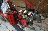 Kontaktlose Dynamo antreiben Fahrradbeleuchtung Sicherheit